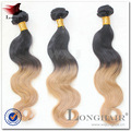 China fornecedor qualidade superior trama forte 1# cor 5a cor ombre jumbo trança de cabelo
