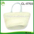 2014 Yiwu Hotsale mulher elegante Handmade sacos de palha