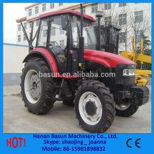 Más populares 85hp 4wd tractores agrícolas arado de disco, Remolque