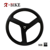 2014 XBIKE full black high stiffness T1000 carbon 3 spoke bicycle wheels