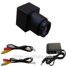 520tvl 90degree 2 gram mini camera with japan lens good video for cars trucks home industry