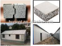 fiber cement EPS sandwich panel for prefab house