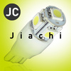 (Factory selling) car dashboard light bulb 5050 5smd t10