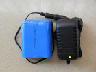 New Designed 12V Li ion battery pack with charger