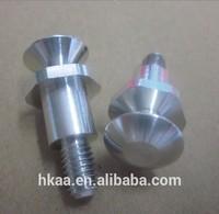 Chinese cheap cnc parts customized aluminum standoff pin standoff screw advertisement screw
