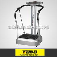 Body building machine two motor vibration plate/body slimming shaper/body slim machine