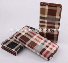 New style stylish PU Unisex Fashion and trendy bifold men wallet