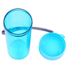 plastic sippy cup paper insert double wall cup