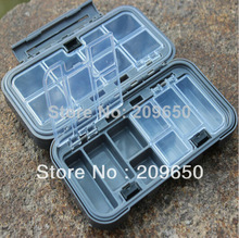 Top Quality !! Fishing Box Waterproof Fish Lure Hook Bait Tackle Box Case 165*90*50 mm 207g Fishing Tackle Tools