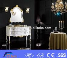 Luxury rosewood bathroom cabinet EA-106