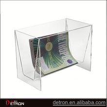 Creative clear acrylic periodical shelf