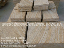 Construction material China yellow sandstone