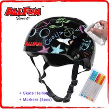 Printing design helmet for kids knee producter helmet bicycle