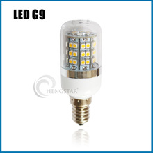 new product G9 48SMD led light PC cover,48SMD 3528 E14/E27/GU10 warm/cold white mini corn light CE&RoHS,HIGH BRIGHT G9