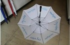 high quality big inverted end cooler sunshade square straight golf fan umbrella with fans shaft