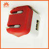 international dual usb power adaptor with high quality