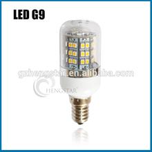 IP44 mini corn light CE&RoHS LED G9 PC cover,48SMD 3528 E14/E27/GU10 warm/cold white mini corn light CE&RoHS,HIGH BRIGHT G9
