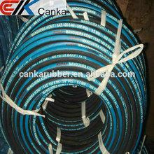 "1/4"" 1/2"" 3/4"" 1"" 2"" R6 r6 high pressure temperature steel wire reinforced hydraulic hose"