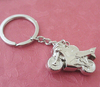 metal key ring Motorcycle keychain boy girl fashion pendant gift