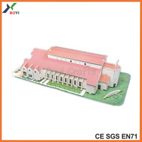 model house layout,windows model in house,factory mold house puzzle with EPS
