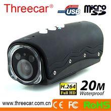Free Outdoor 20m waterproof 5M CMOS sensor action camera accessories