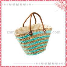 China Wholesale Custom bags beach wicker