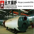 horizontal industrial de gas del calentador de agua