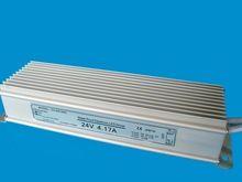 CE RoHS approved waterproof 100W 24V 4.2a power supply