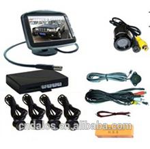 2014 DLS Hot sale 3.5 inch TFT LCD Display 4 Car Parking Sensor Reverse Assistant Parking Sensor