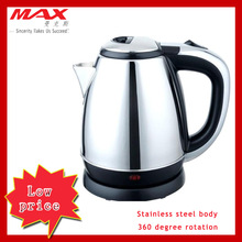 Electric fast stainless steel kettle kitchen home appliance 1.8L SS electric kettle lowest price