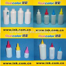 Realcolor 100ml/500ml/1000ml empty plastic bottles for inks