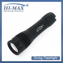 Hi - max cree xm - l t6 led petite lampe de poche 1000 compresseur plongée utilisé