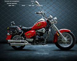 chinese zf-ky 250cc cheap chopper motorcycle ZF250-6A