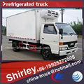 1-5t ice cream mini carrello, mini frigo/congelatore furgone infila, mini camion refrigerati