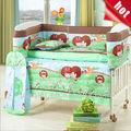 kits de cama de hojas para cunas funda de edredón conjunto para los niños