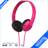 Red Plastic Small headphone on-ear