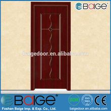 BG-MW9048 soundproof interior doors series veneered door skin for hotel