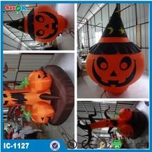 2014 Hot sale attractive halloween inflatable pumpkin