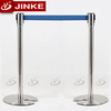 High Quality Stainless Steel Retractable Belt Barrier Lighted Bollards For Sale