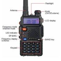 Baofeng uv5r walkie talkie made in china handheld dual band antenna handy talkie