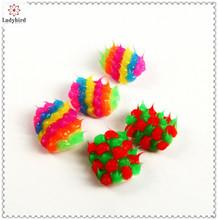 fashional colorful hedgehog adhesive fake nail nail art