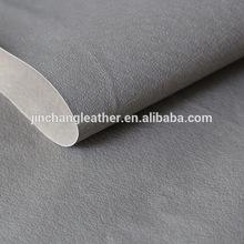 grey pig skin pu leather & shoe lining pu leather