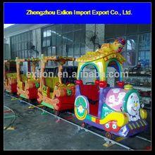 Amazing!!!Amusement elephant track train for sale.kids mini ride on train and track