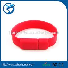 Hot sale !Bracelet usb flash drive wrist usb hand band usb flash drive