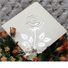laser cut paper wedding card invitation wholesale graceful and cute
