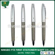 2014 Hottest!!!Stainless Steel Braid Metal Ball Pen Business Giftware Promotonal Ball Pen