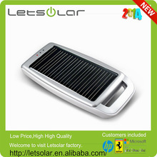 Mini solar cell battery charger can be recharged from any USB port in PC/laptop