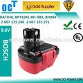 Batteries pour les perceuses à main 9.6v bosch. ni-cd batterie batterie outil électrique