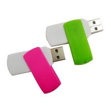 New metal 360 degrees swivel key chain USB flash drive model bulk 2gb usb flash drives