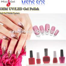 Hot sell 720 colors 15ml soak-off UV/LED nail gel polish wholesale gel polish